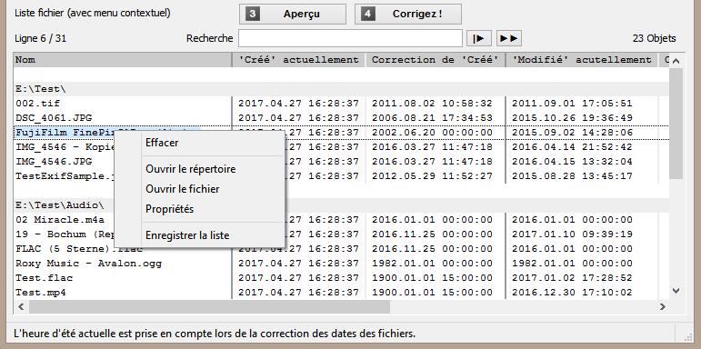 Corriger la date de création et de modification de vos fichiers avec File Date Corrector