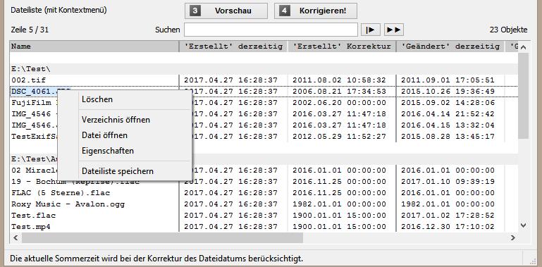 Mit File Date Corrector tatsächliches Aufnahmedatum / Erstelldatum wiederherstellen