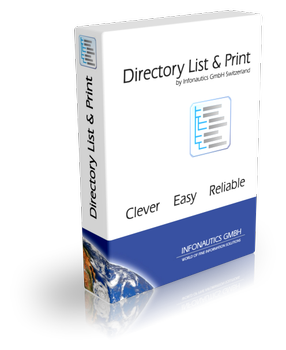Easily lis and print folder and directory contents in Windows with Directory List & Print