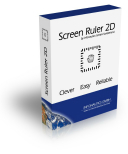 Bildschirmlineal Screen Ruler 2D