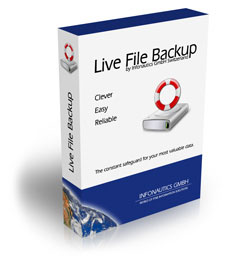 Automatische Backup Software Live File Backup
